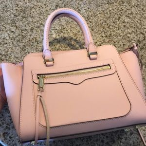 Rebecca Minkoff Pale Pink Top Handle Bag!